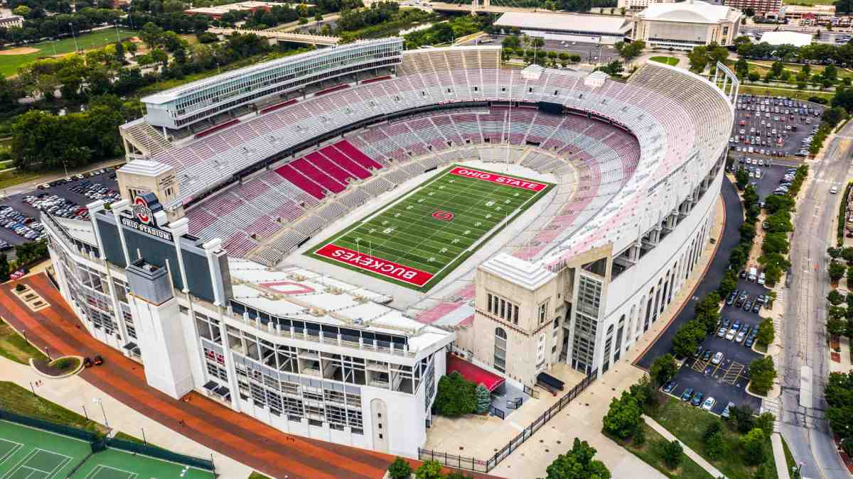 Platz 4 der größten Stadien der Welt: Ohio Stadium, USA: