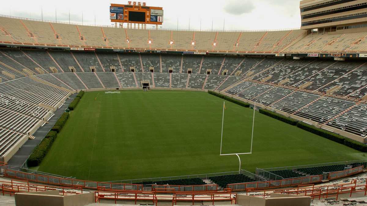 Platz 6 der größten Stadien der Welt : Neyland Stadium, USA: