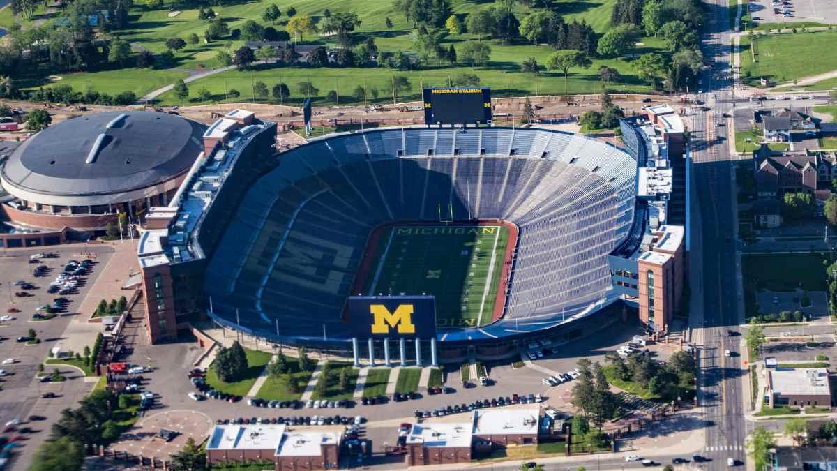 Platz 2 der größten Stadien der Welt: Michigan Stadium, USA: