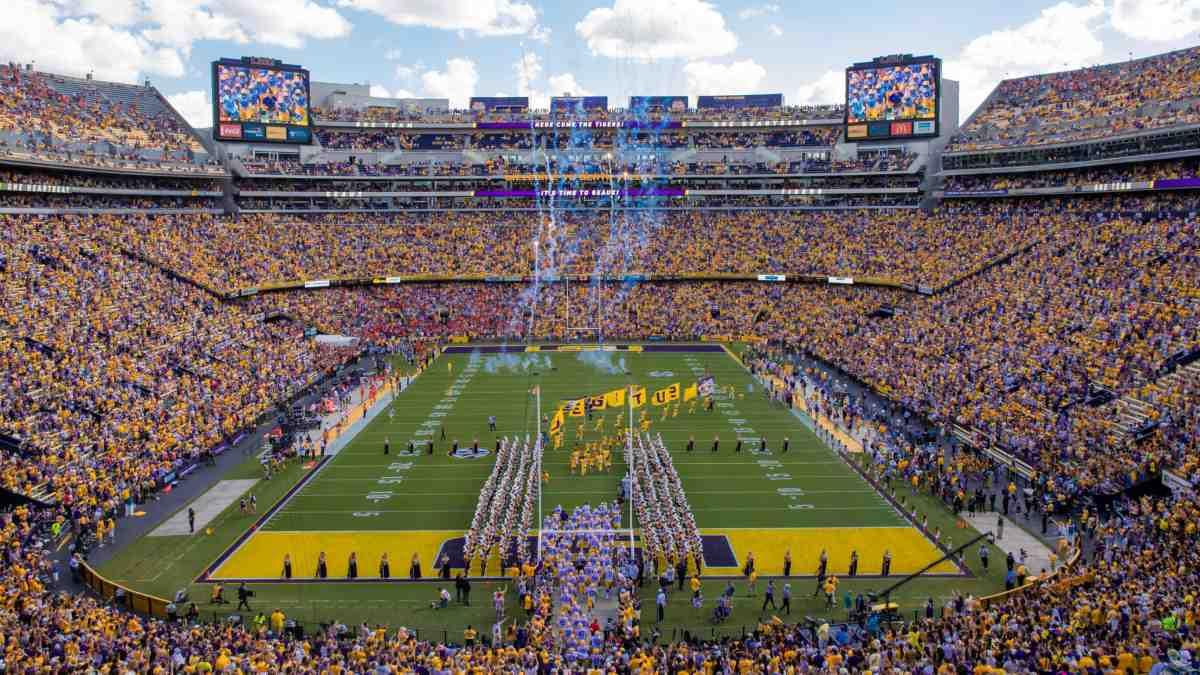 Platz 7 der größten Stadien der Welt: Tiger Stadium, USA: