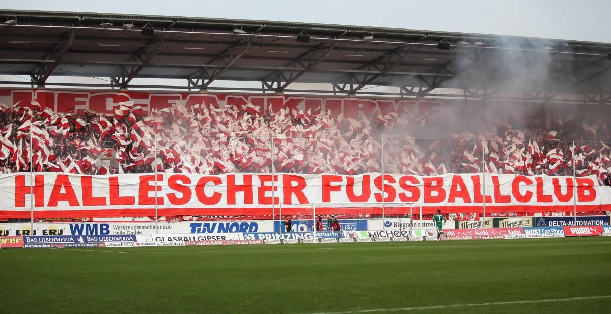 Hallescher FC Banner