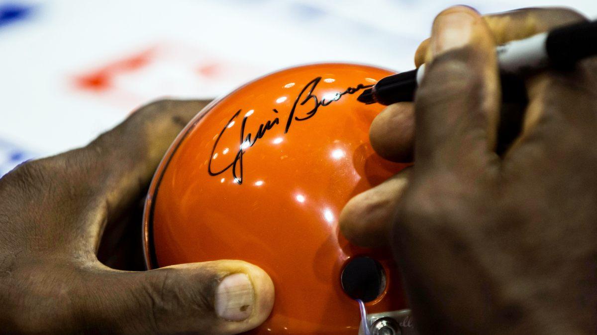 Jim Brown Signature