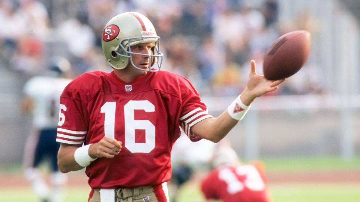 Joe Montana - Die besten NFL Spieler aller Zeiten
