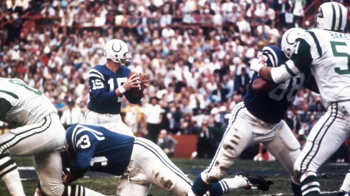 Johnny Unitas - Die besten NFL Spieler aller Zeiten