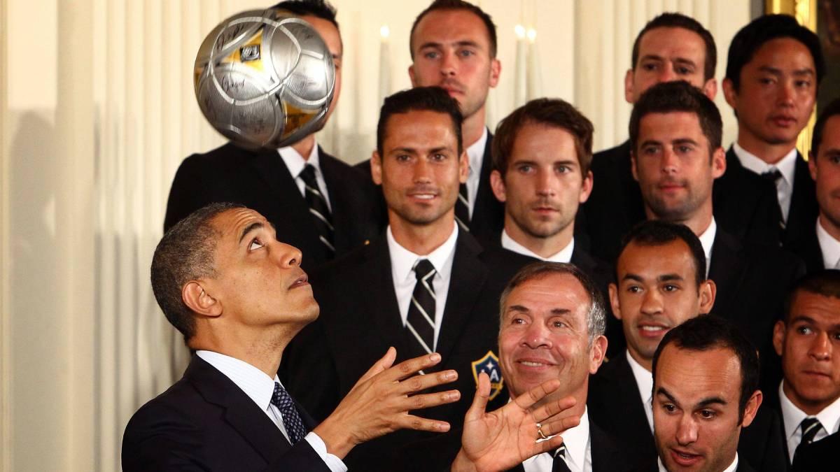 Major League Soccer - Los Angeles Galaxy  - Barrack Obama