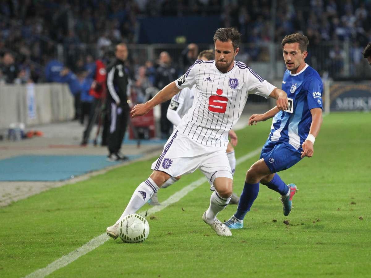 Hallescher FC gegen 1. FC Magdeburg