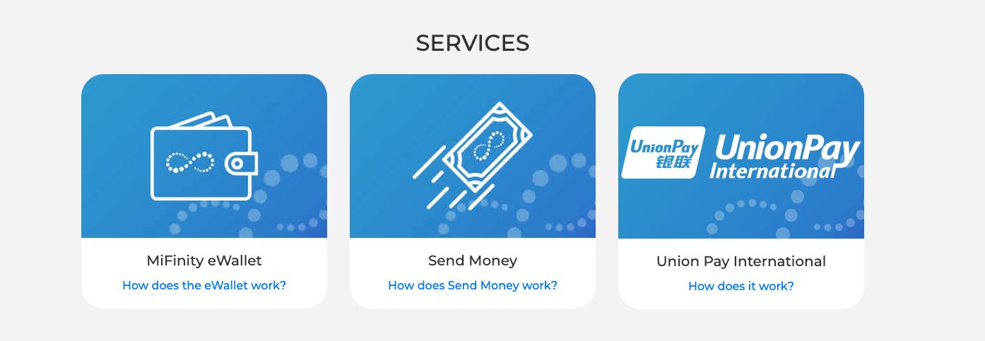Mifinity Sportwetten Dienstleistungen